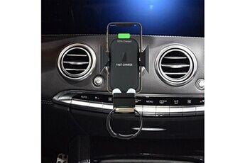 Chargeur de voiture sans fil rapide dock de charge sans fil 3 en 1 pour téléphone airpods iwatch