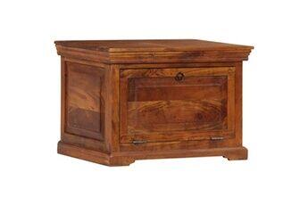 GENERIQUE Rangements pour armoires à vêtements reference hanoï armoire à chaussures 60 x 40 x 41 cm bois d'acacia massif