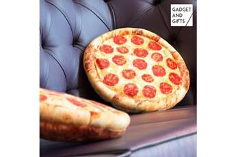 Gadget And Gifts Coussin pizza gadget and gifts