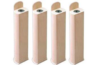 Coreme Pieds pour cadre lattes 22 cm ivoire