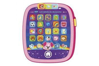 Vtech - tablette enfant - lumi tablette des découvertes rose - tablette enfant