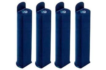 Coreme Pieds pour cadre lattes 28 cm bleu nuit
