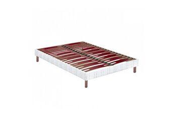 Bultex sommier tapissier bultex confort morphologique bi-lattes 80x200