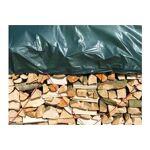 nature  Nature Bâche pour tas de bois en polyéthylène 90gr/m² vert 5x6m... par LeGuide.com Publicité