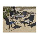 hevea  Hevea Salon de jardin table ronde mosaïque cambel ampuria Salon... par LeGuide.com Publicité