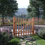 vidaxl  Vidaxl Portillon de clôture bois de noisetier imprégné 100 x 90... par LeGuide.com Publicité