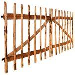vidaxl  Vidaxl Portillon double de clôture bois noisetier imprégné 300x150... par LeGuide.com Publicité