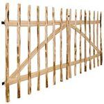 vidaxl  Vidaxl Portillon double pour clôture bois de noisetier 300 x 150... par LeGuide.com Publicité