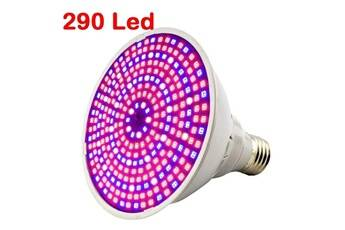 Justgreenbox Ampoules à led pour la culture de plantes à spectre complet éclairage de lampe pour graines hydro fleurs serre végétale jardin d'intérieur e27 phyto