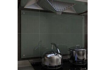 GENERIQUE Arts de la table et arts culinaires ligne bujumbura dosseret de cuisine blanc 100 x 60 cm verre trempé
