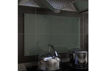 GENERIQUE Arts de la table et arts culinaires edition sucre dosseret de cuisine blanc 80 x 50 cm verre trempé