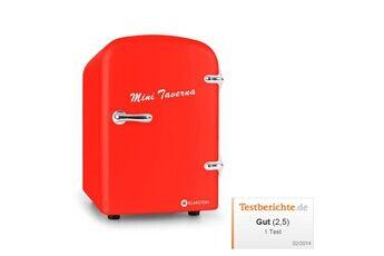 KLARSTEIN Mini Taverna Réfrigérateur compact 4L rouge