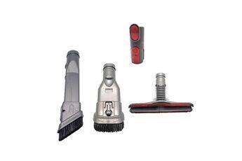 Generic Bouton lit brosse rouge scrub-joint brosse pour dyson v6 v7 v8 v9 v10 aspirateur accessoires d'aspirateur 282