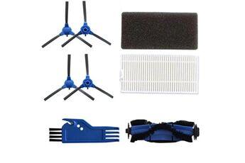 Accessoires aspirateur robot remplacement de brosse propre de filtre de rouleau de brosse latérale pour la balayeuse eufy robovac 11s @he114