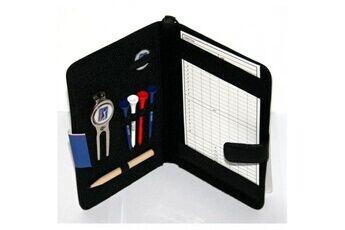Pga tour accessoires et porte-carte de score en cuir véritable