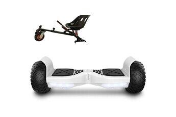 Air Rise Pack hoverboard hummer blanc et hoverkart noir tout terrain