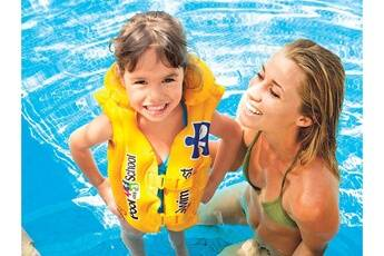 Intex Gilet de natation gonflable pool school