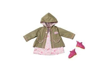 Zapf Creation 794616 Baby Annabell - Ensemble de saison avec robe, veste et chaussures - Vêtements pour Poupon