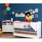 Ma Chambre d'Enfant Lit bébé évolutif Pepper Blanc et bois 70x140... par LeGuide.com Publicité
