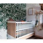 Ma Chambre d'Enfant Lit bébé combiné évolutif Holly Blanc 70x140... par LeGuide.com Publicité