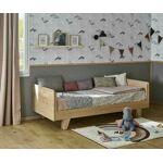 Ma Chambre d'Enfant Lit enfant gigogne Nature Blanc 90x200 cm Au... par LeGuide.com Publicité