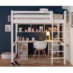 Ma Chambre d'Enfant Lit mezzanine enfant Cancun Blanc 90x190 cm... par LeGuide.com Publicité