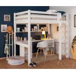 Ma Chambre d'Enfant Lit mezzanine enfant 2 places Cancun Blanc 120x190... par LeGuide.com Publicité