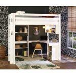 Ma Chambre d'Enfant Lit mezzanine enfant avec bureau Fynn Blanc... par LeGuide.com Publicité