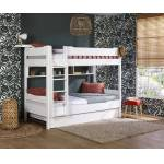 Ma Chambre d'Enfant Lit superposé adulte avec matelas Tigg Blanc... par LeGuide.com Publicité
