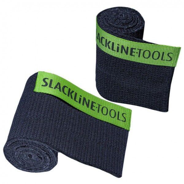 Slackline-Tools - Tree-Guard Set - Sangle de protection pour arbre taille 280 cm, noir