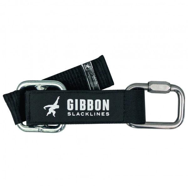 Gibbon Slacklines - Slow Release taille 45 x 5 cm, noir