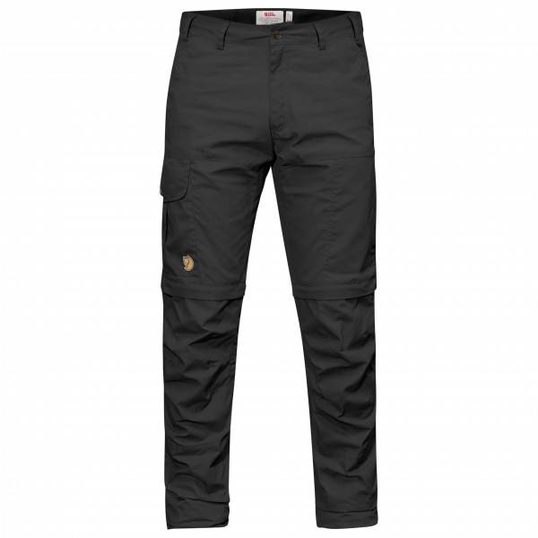 Fjällräven - Karl Pro Zip-Off Trousers - Pantalon de trekking taille 54 - Regular - Raw Length, noir