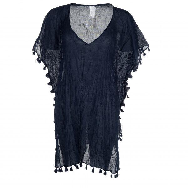 Seafolly - Amnesia Kaftan - Robe taille One Size, noir/gris