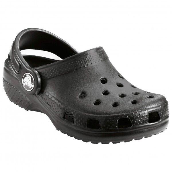 Crocs - Kids Classic - Sandales de marche taille C4 / C5, noir/gris
