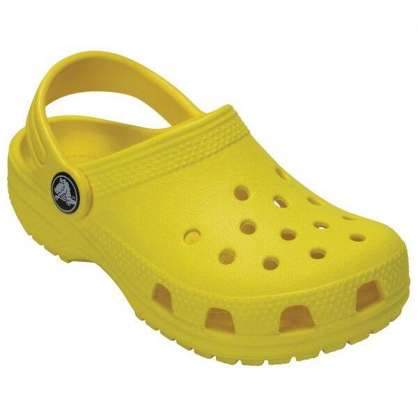 Crocs - Kid's Classic Clog - Sandales de marche taille C13, jaune/orange