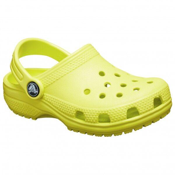 Crocs - Kid's Classic Clog - Sandales de marche taille J1, jaune