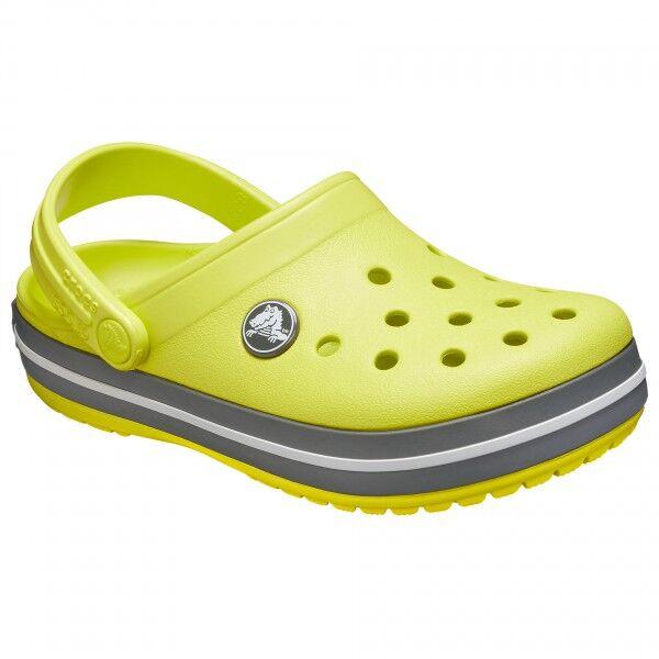 Crocs - Kid's Crocband Clog - Sandales de marche taille C6, jaune