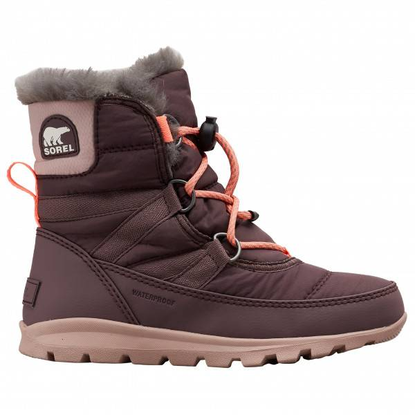 Sorel - Youth Whitney Short Lace - Chaussures d'hiver taille 7, brun