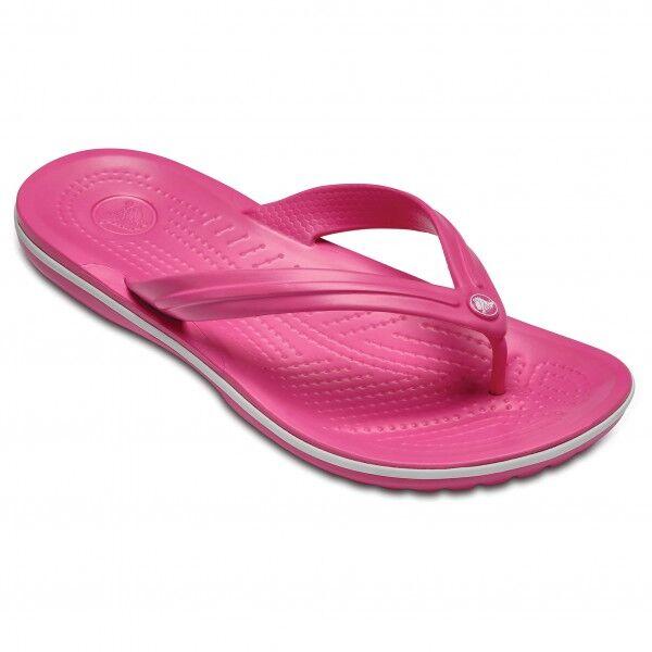Crocs - Crocband Flip - Sandales de marche taille M9 / W11, rose