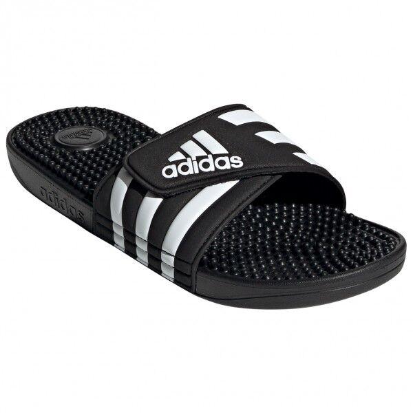 adidas - Adissage - Sandales de marche taille 5, noir