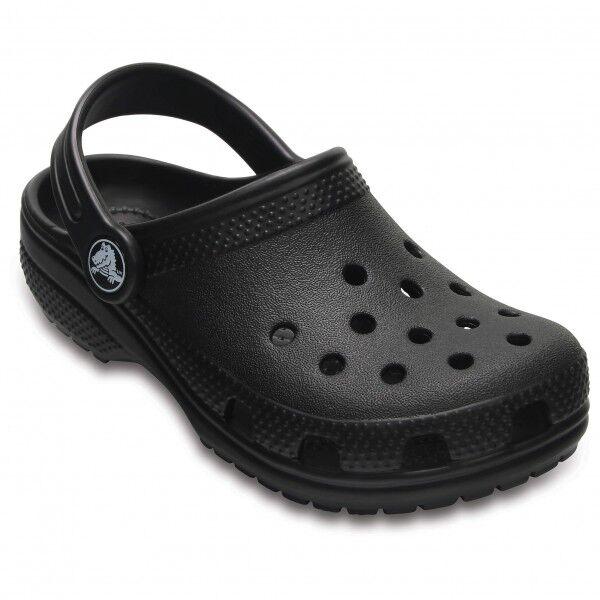 Crocs - Kid's Classic Clog - Sandales de marche taille C12, noir