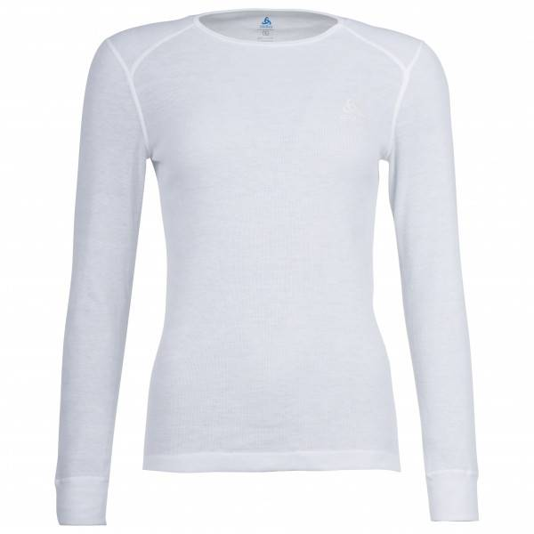 Odlo - Women's Shirt L/S Crew Neck Warm - Sous-vêtement synthétique taille XL, gris