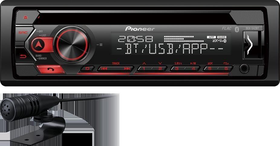 PIONEER Autoradio PIONEER DEH-S42BT