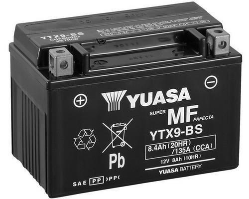 YUASA Batterie moto YUASA YTX9-BS