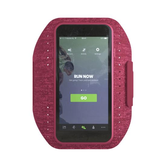 adidas sports band running ceinture sport bracelet iPhone 6 6s 7 8 - Rouge