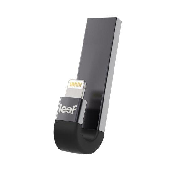 Leef Vivre iBridge 3 Foudre 132GB stockage externe - Noir