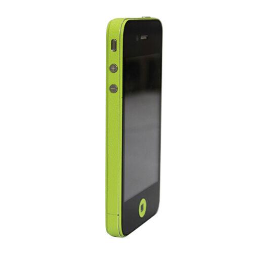 GadgetBay Autocollants pour pare-chocs Decor Color Edge iPhone 4 4s Skin - Vert
