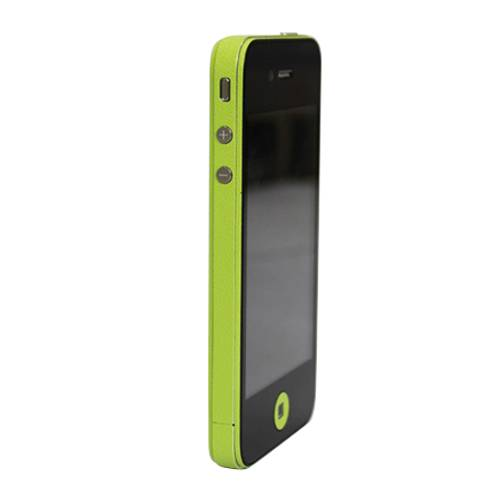 GadgetBay Décor Color Edge iPhone 4 4s Autocollants Pour Voiture Skin - Vert