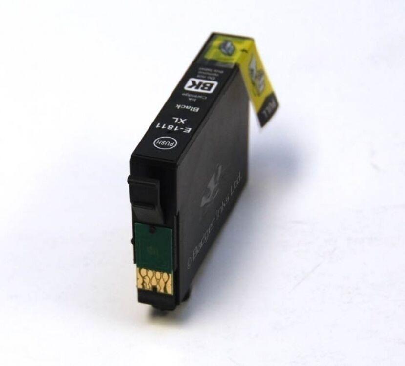 EPSON Cartouche compatible EPSON T1811XL noire
