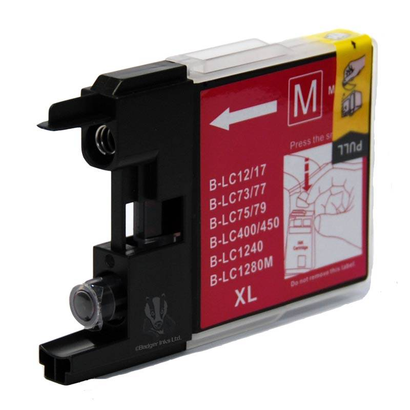 BROTHER Cartouche compatible BROTHER LC-1280/LC-1240 magenta